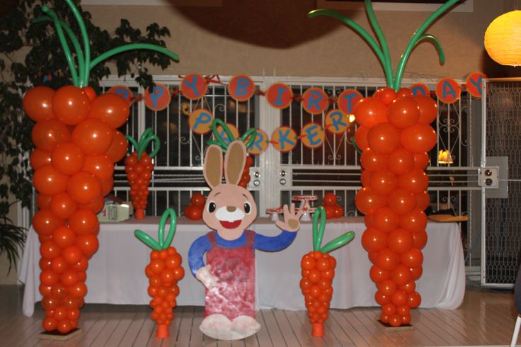 Harry the bunny party