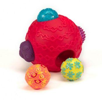 Kula sensoryczna z piłkami - Ballyhoo B. Toys