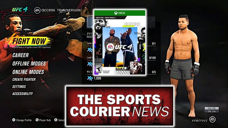 EA Sports UFC 4 New Menus, Game Modes Xbox One in 2020