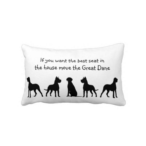 Great Dane Humor Best Seat in house Dog Pet Animal