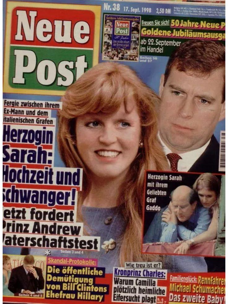 Sarah Ferguson - Neue Post (Nr.38 vom 17.9.1998)