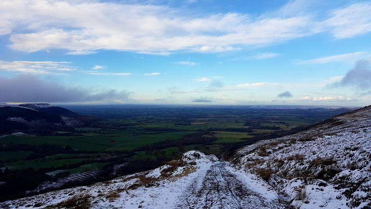 Ingleby Incline snowy view