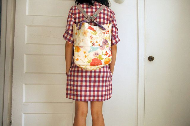A Day In The Park Backpack Tote by the workroom, via Flickr