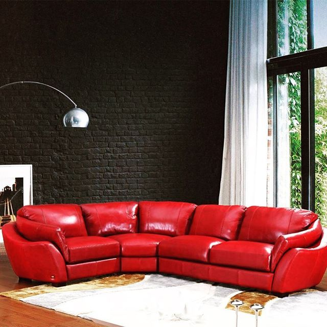 1000 Ideas About Red Sectional Sofa On Pinterest