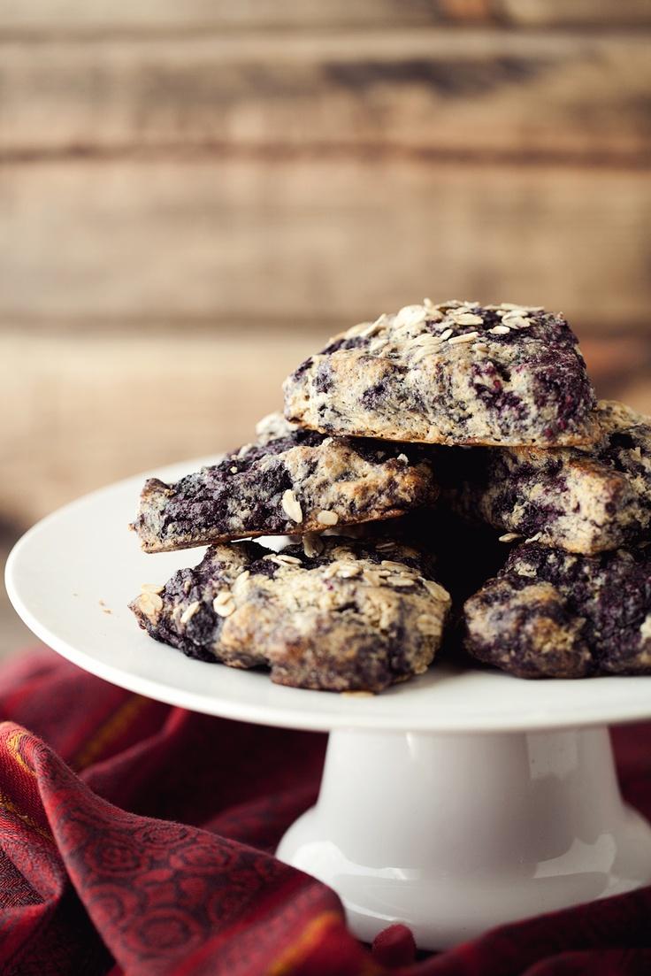 Black Raspberry Oat Scones | Recipe | Black Raspberries, Scones and ...