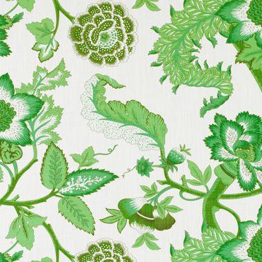 Laidi by Gaston y Daniela fabric GDT5040-006 Green