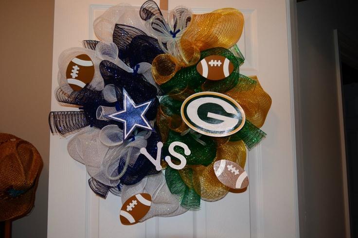 Cowboys vs. Packers.....um I NEED this!!!