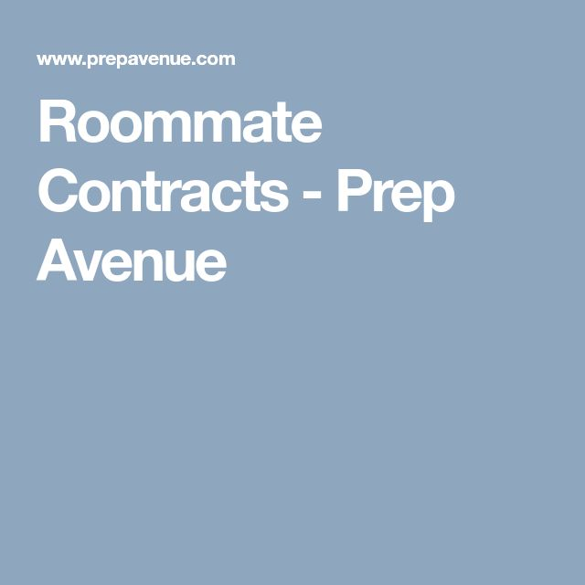 Best  Roommate Contract Ideas On   Good Colleges