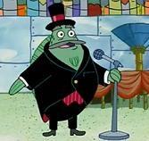 Rodger Bumpass as the Mayor of Bikini Bottom in SPONGEBOB SQUAREPANTS