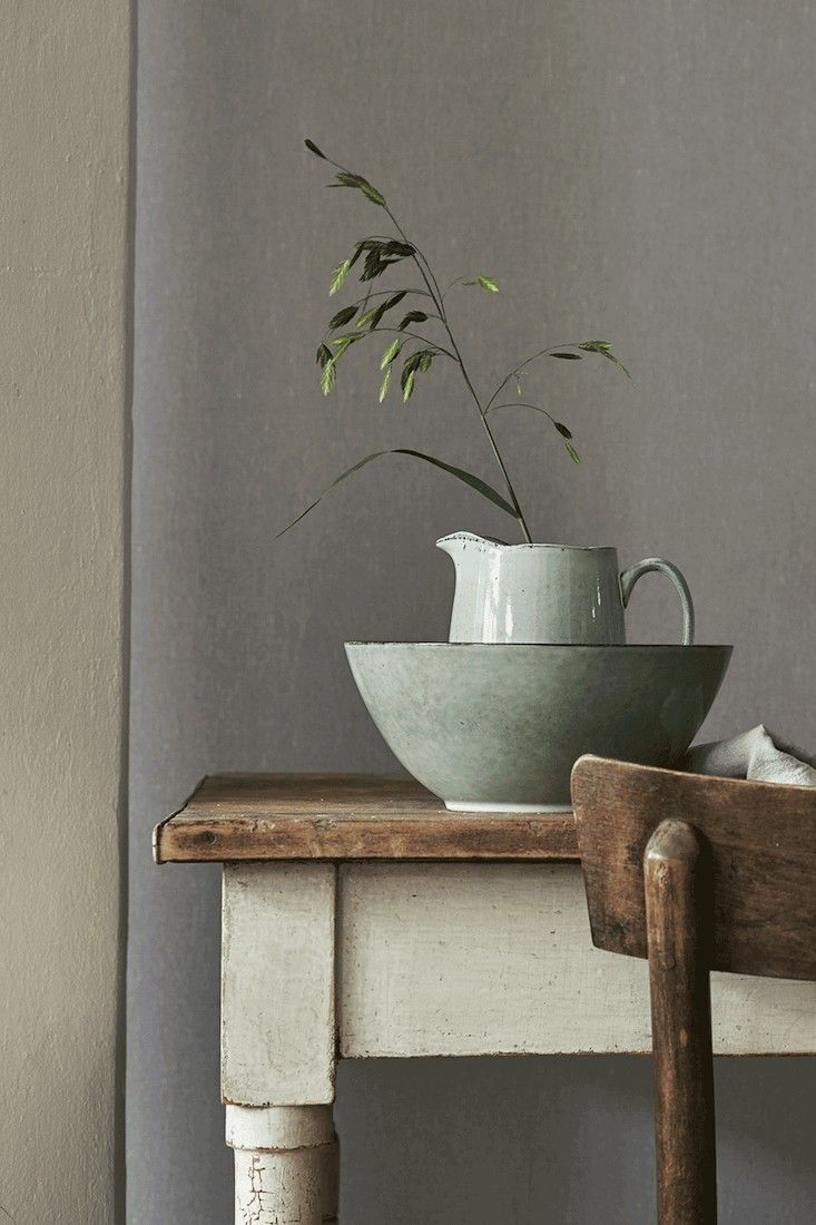 Borstapeter-Linen-Dove-Grey-Remodelista