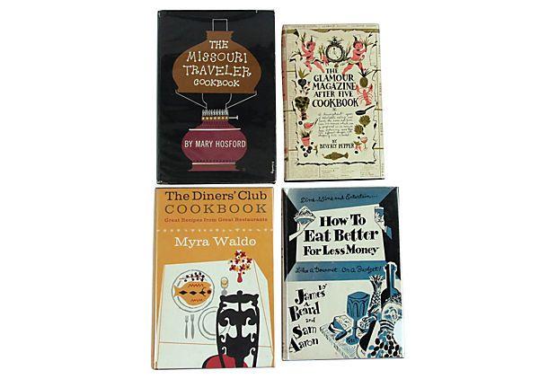 Midcentury Cookbooks, Set of 4 on OneKingsLane.com