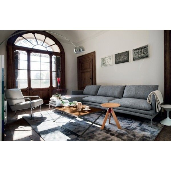 Living Room By Zanotta William Sofa Giotto Stool