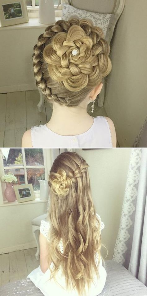 Yevgeniya Chevichelova Peinados Peinados Para Ninas Peinados De