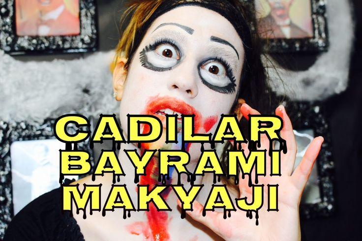 "Cadılar Bayramı Makyajı: ""Snapchat"" Rainbow-Gothic- Zombie | Merve Celik"