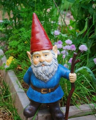 27 best garden gnome colours images on pinterest garden - Duendes para jardin ...