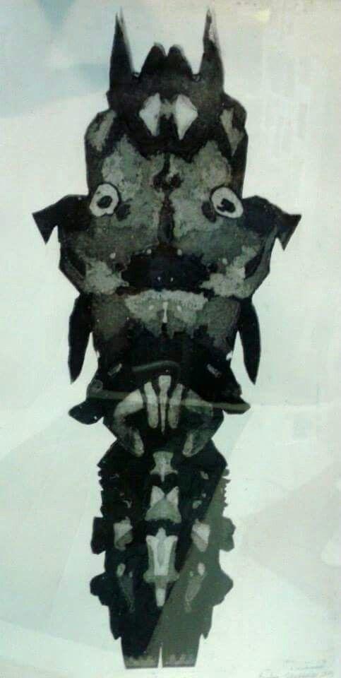 Gravür (Engrave)  Teknik : AQUATINTA  Karabasan 70x50 cm 2015