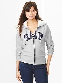 Women's hoodies: zip-ups, pullovers, faux-fur lining, and fun colors at gap.com.   Gap