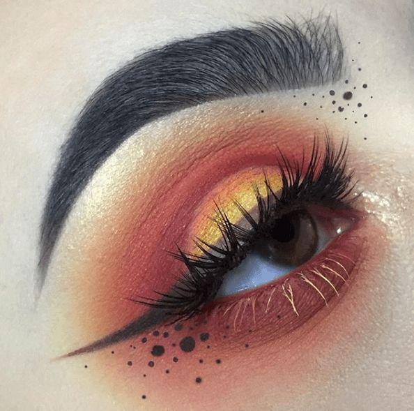 21 Sunset Makeup Looks > CherryCherryBeauty.com [Source: robertavixen / Instagram]