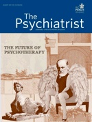Yakeley, Jessica,  Majid, Sarah et al (2011) Psychodynamic approaches to teaching medical students about the doctor-patient relationship: Randomised controlled trial.  Aims and method: To evaluate the effectiveness of two psychodynamic psychotherapy teaching methods, a student psychotherapy scheme (SPS) and participation in a Balint group, in teaching first-year clinical medical students about doctor-patient communication and the doctor-patient relationship.