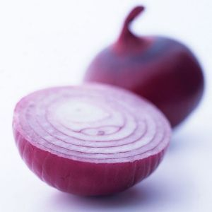 Onion juice helps by providing nourishment and circulation to the hair follicles