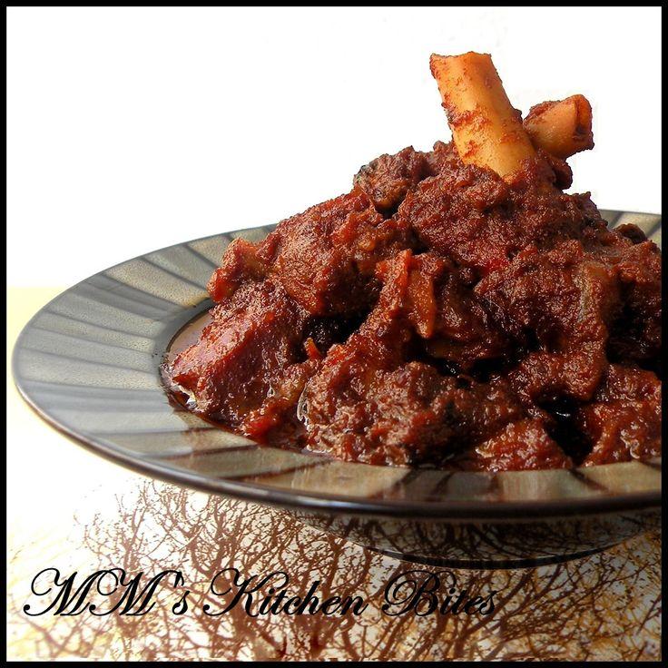 MM's Kitchen Bites: Kosha Mangsho...declaring 'Bengali week' open on this space!!