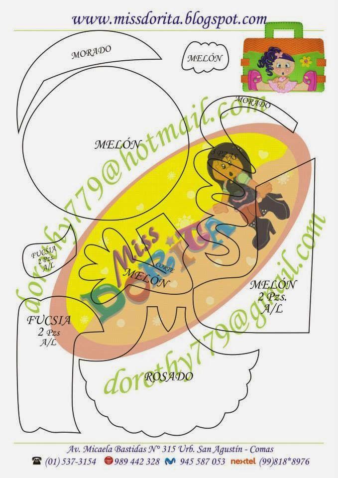 Miss Dorita: Moldes Portafolio