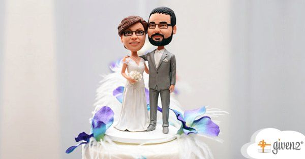 cake topper sposi by given2