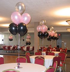 formal sweet 16 party decoration ideas | While party game ideas may have been the staple of birthday parties in ...