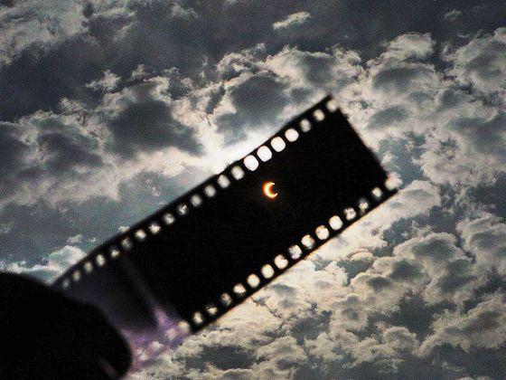GIGAZINE: Annular Eclipse, Solar Eclipse