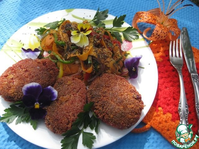 Котлеты овощные ингредиенты