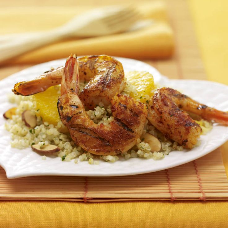 Take backyard grilling to the next level with new ingredients and flavors. Paprika and orange, a classic Spanish combination, brightens grilled shrimp. Quinoa, an ancient seed from South America, is rich in protein and has a nutty crunch.