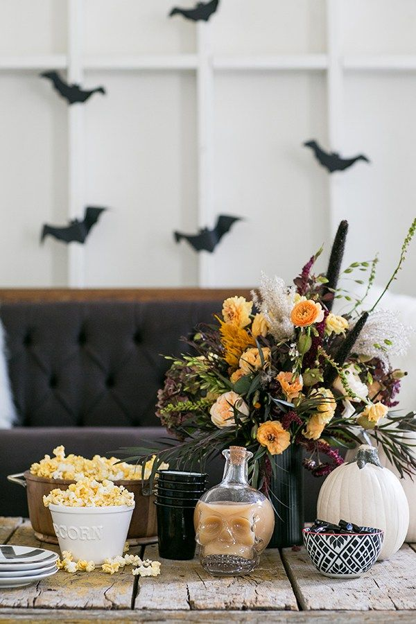 A Charming Halloween Movie Night - Sugar and Charm - sweet recipes - entertaining tips - lifestyle inspiration