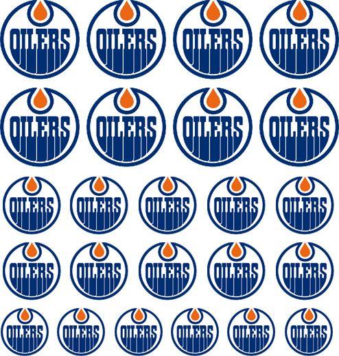 Nail Apparel - NHL -Edmonton Oilers | Nail Decals, $4.00 (http://www.nailapparel.net/nhl-edmonton-oilers/)