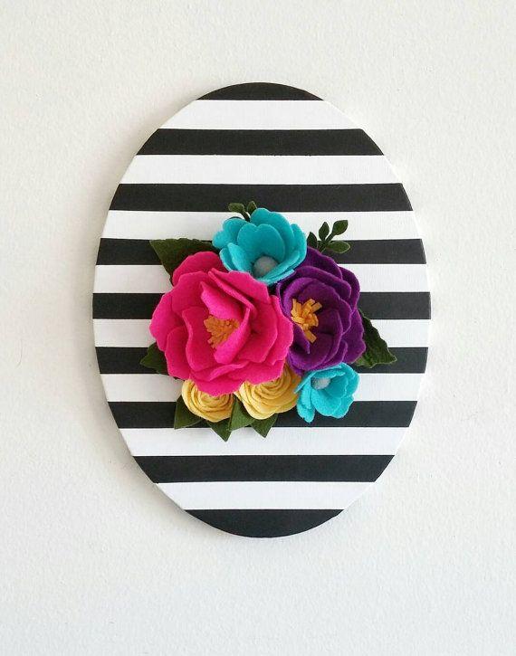 Best 25+ Felt wall hanging ideas on Pinterest   Felt art ...