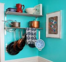 bright turquoise paint colors for kitchen walls