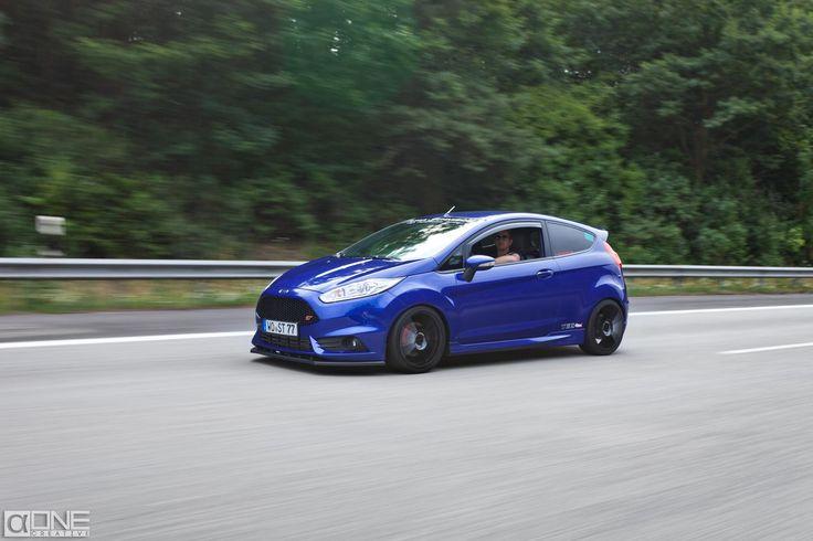 Ford Fiesta mk7 ST blue Tuning