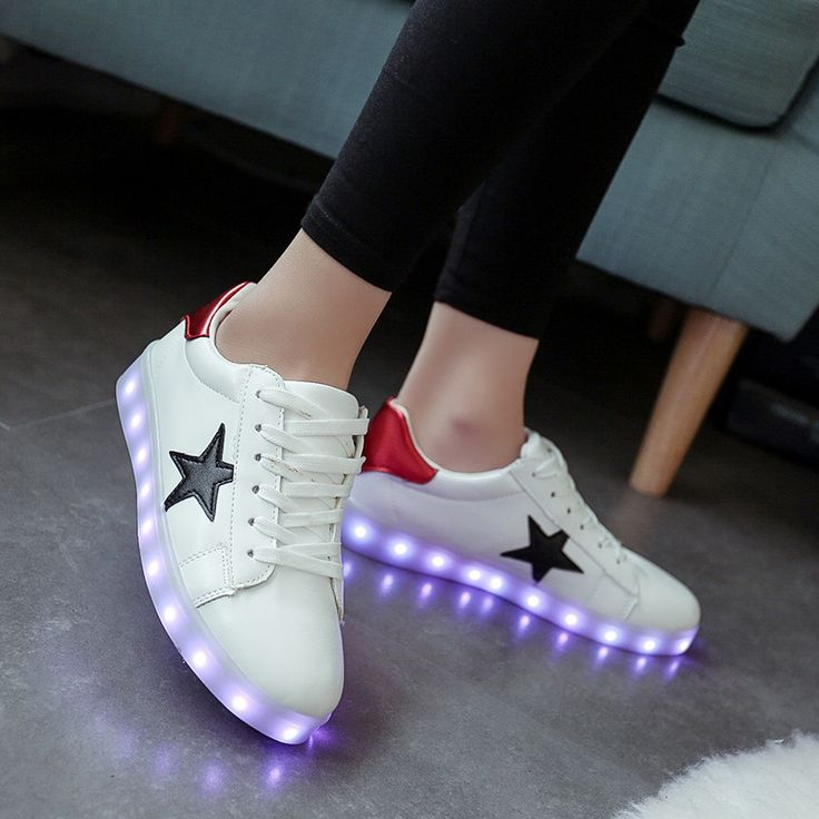 Luminous sneakers Tenis Led Feminino Basket Led Enfant Light Up Trainers Kid Casual Boy&Girl  Led Glowing Sneakers Child shoe