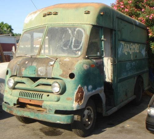 1960 Ford UPS Delivery Truck