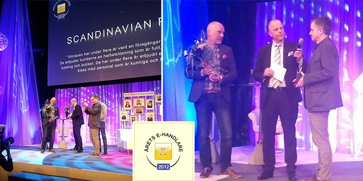 Scandinavian Photo blev Årets e-handlare 2012! :)