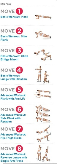 Tight stomach crunches and killer ab workouts on pinterest