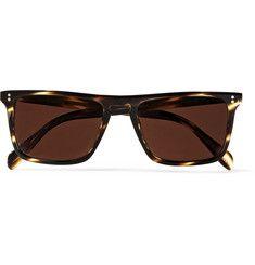 Oliver Peoples - Bernardo D-Frame Acetate Sunglasses|MR PORTER