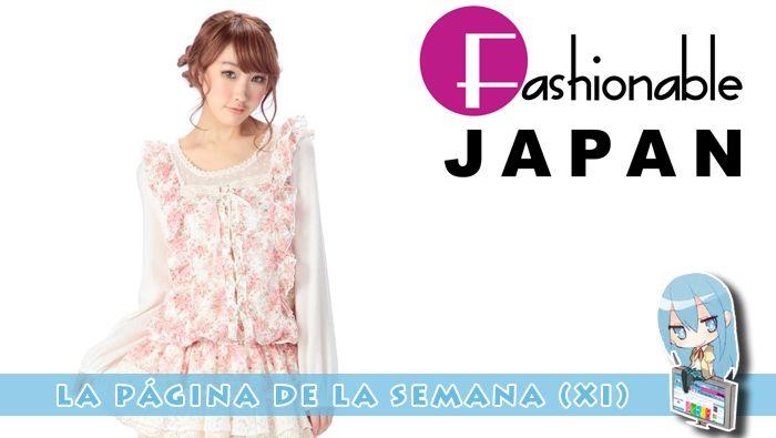 Fashionable Japan – La Página de la Semana (XI)