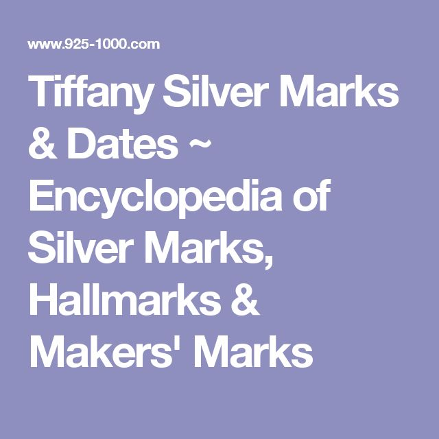 23 best images about sterling silver hallmarks on jewelry