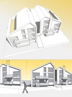 Family House TWINS, architecture by Artlandia