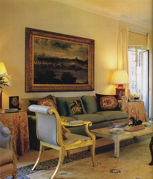 Attractive Anne Cox Chambers Sutton Place Apt: Living Room Decorated By Rory Cameron