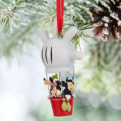 Décoration montgolfière mickey mouse et ses amis