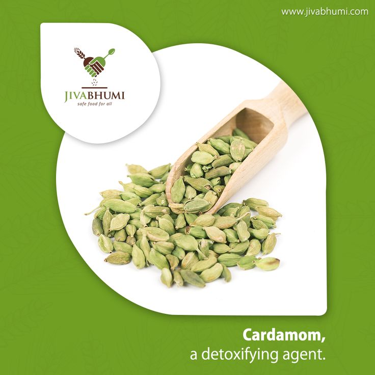 Cardamoms act as detoxifying agents and help in the natural cleansing of the body. This spice helps the body eliminate waste through the kidneys and is also beneficial in treatment of kidney stones and bladder infections. Buy naturally cultivated Cardamom from #Jivabhumi. Shop now: http://bit.ly/shop_jivabhumi #FarmFood #NaturalFood #Healthy #Cardamom #Herb #Spice