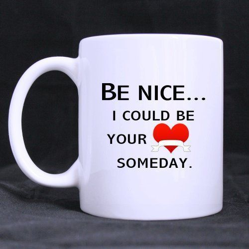 Be Nice   Quotes New style perfect choice for giftCustom Photo Mugs ** Insider's special review you can't miss. Read more    Cat mug