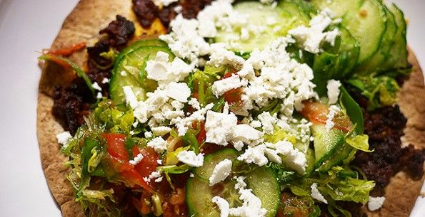 P1340902 595x305 Recept: Jamie Oliver Turkse Pizza