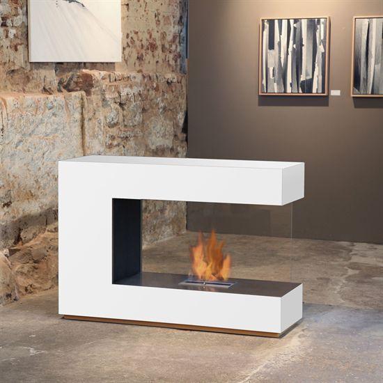 Bioethanol fireplace / contemporary / open hearth / built-in LOFT C-02 muenkel design